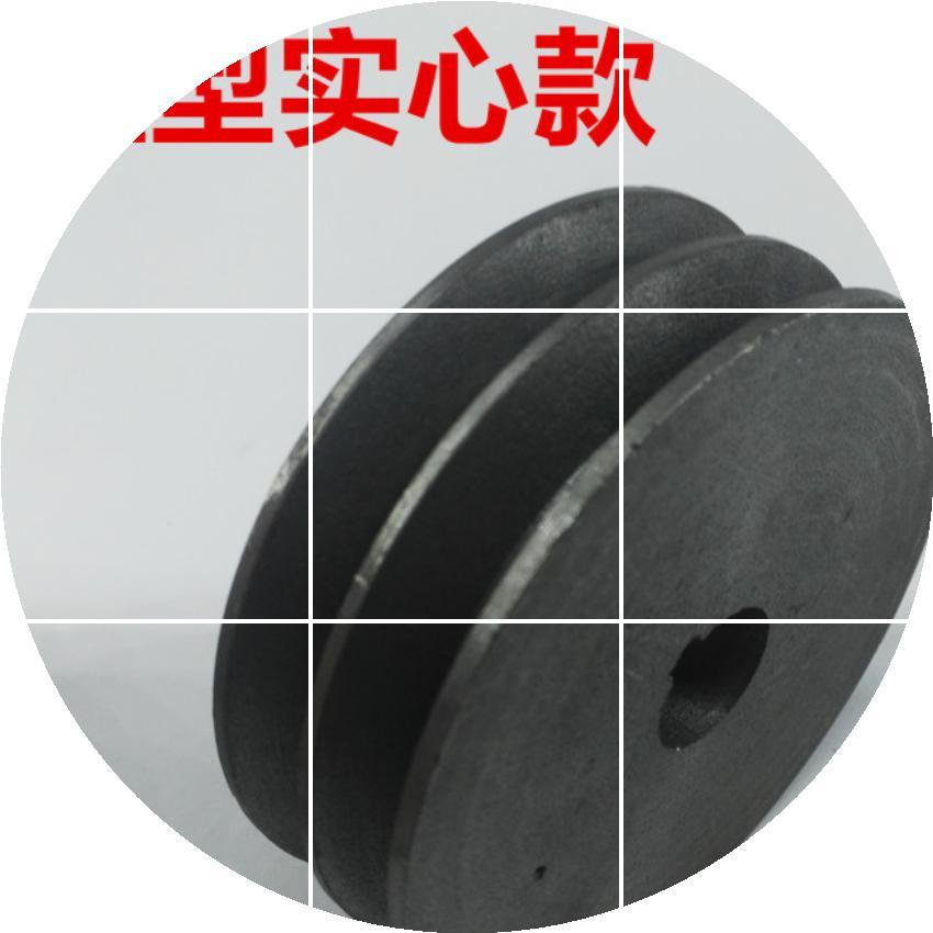 Produção de POLIA POLIA de ferro fundido Tipo B com Quatro 100-380 leve espessamento groove.
