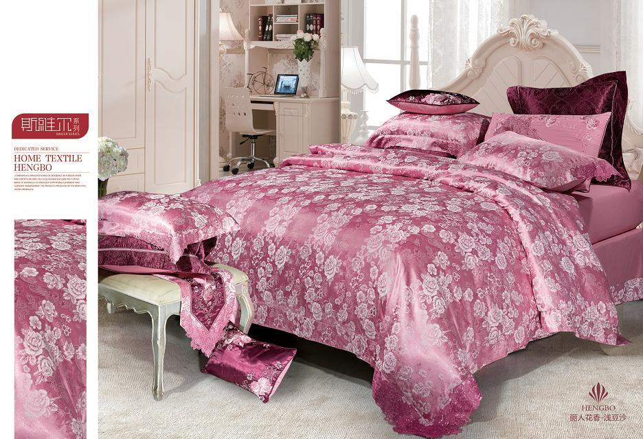 Gucci Tihuasi, floral charming in textile Tencel four piece wedding bedding bag mail