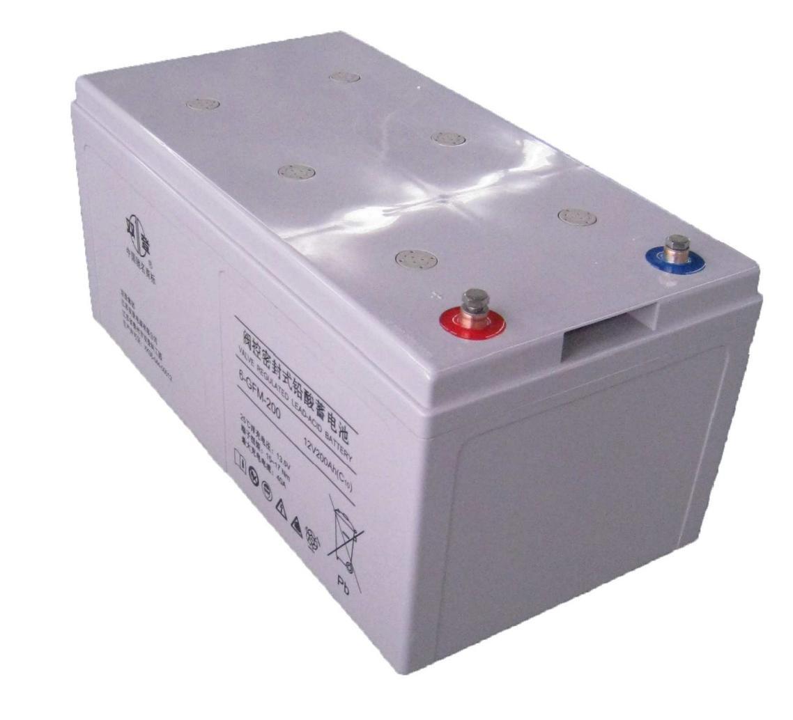 Doble registro especial para el suministro de energía de la batería 6-GFM-20012v200AHUPS bolsa de correo nacional tres años de garantía