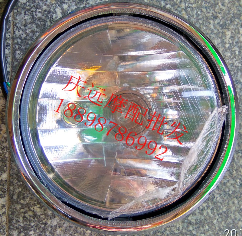 Motorcycle accessories, Honda, DIO, new continents, free turtles, headlights, assembly, headlights