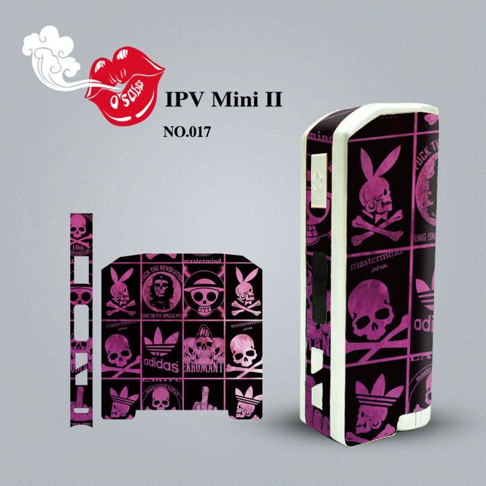 Аутентичные IPVMini i II универсальной электронной сигареты наклейки, регулирующий ящик нуля доказательства фильм снимали наклейки защиты кожи