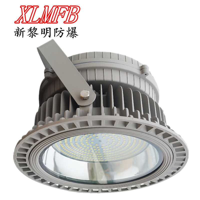 Led explosion proof industrial and mining lamp warehouse workshop ceiling chandelier, round explosion-proof light, outdoor dust-proof explosion-proof lamp