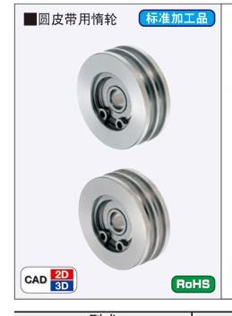 جولة حزام بكرة المهمل مزدوج نوع MBXACMBXS فتحة مزدوجة حزام بكرة المهمل لتدوير عجلة عجلة