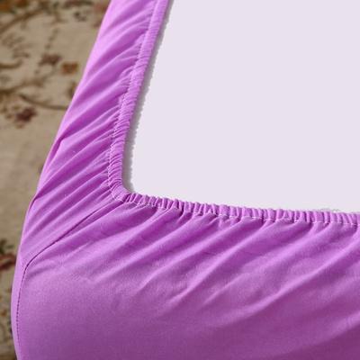 床笠单件  席梦思保护套 防尘套棕垫床罩床垫套纯色1.2/1.5/1.8床