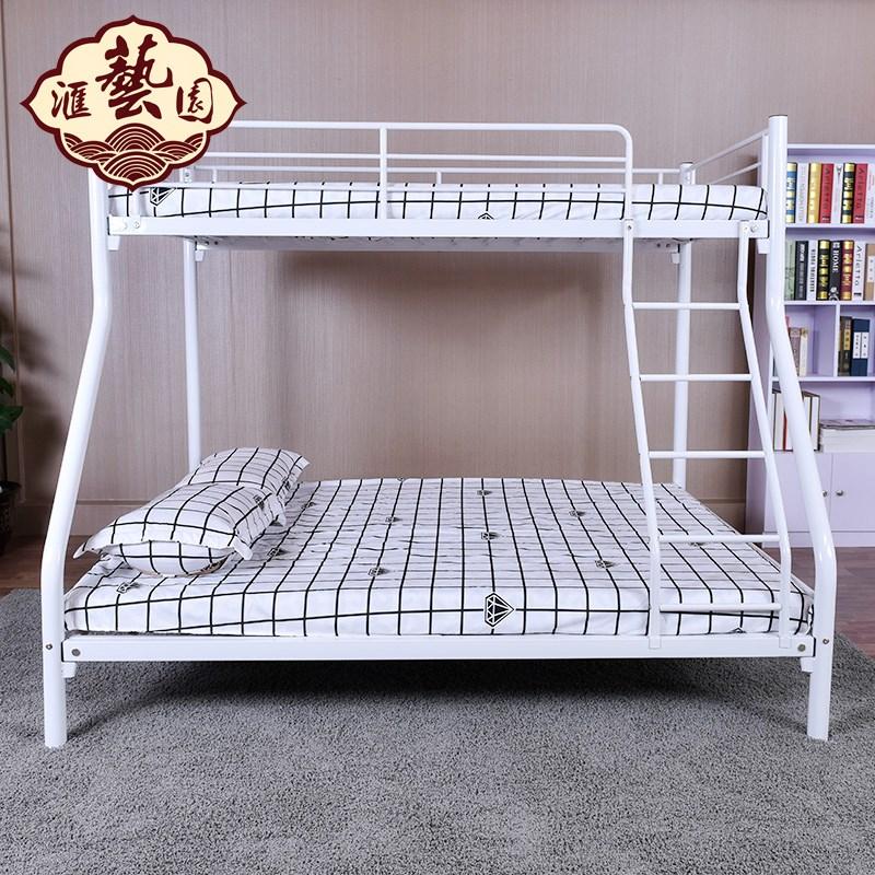 железная кровать железная кровать двухъярусная кровать двуспальная кровать матери студенческие общежития сотрудников стали деревянные кровати Кровать на кровати в железную кровать прилавок