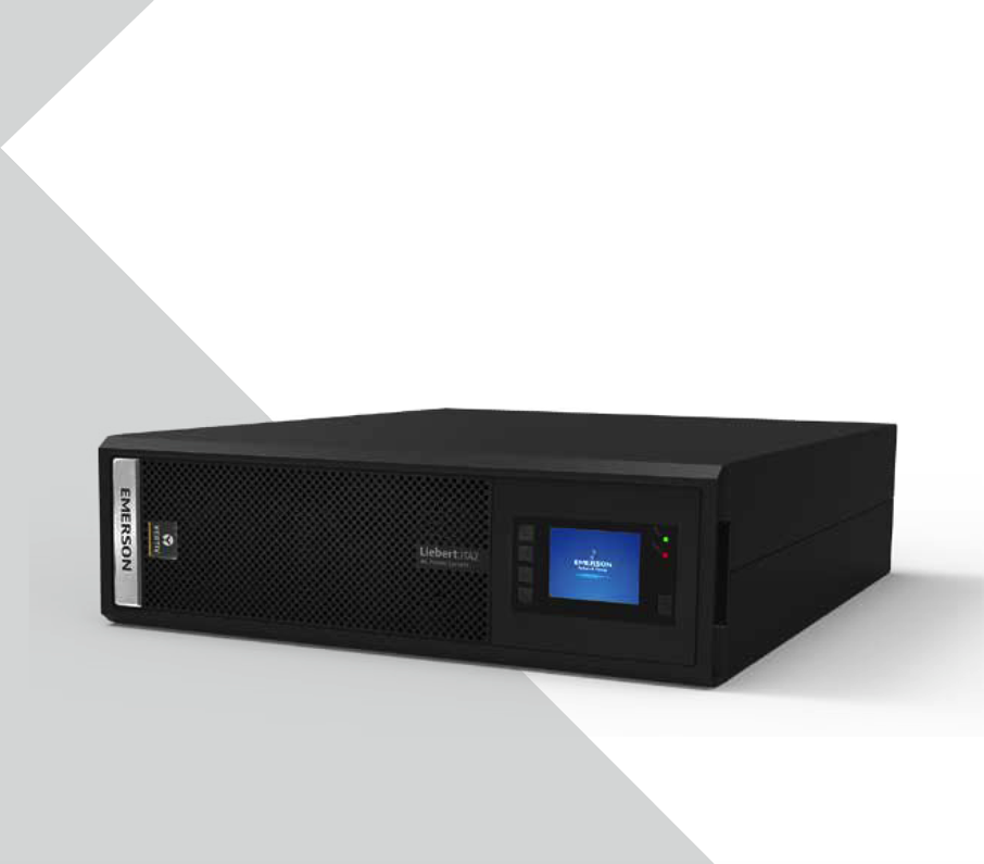 Emerson ITA-06k00AL1102C00UPS uninterruptible power supply 6KVA rack type external battery