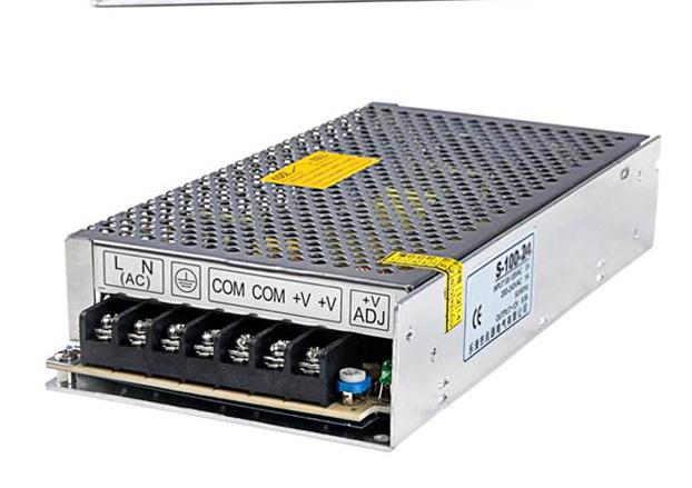 led - lyskilde med adapter transformator 220v til 12v strømforsyning 25W2a5a10a15a20a