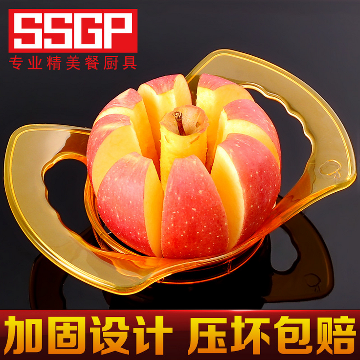 Apfel - slicer Obst Cutter artefakt - teiler - Messer, schneidet äpfel Obst aus rostfreiem Stahl für Apple