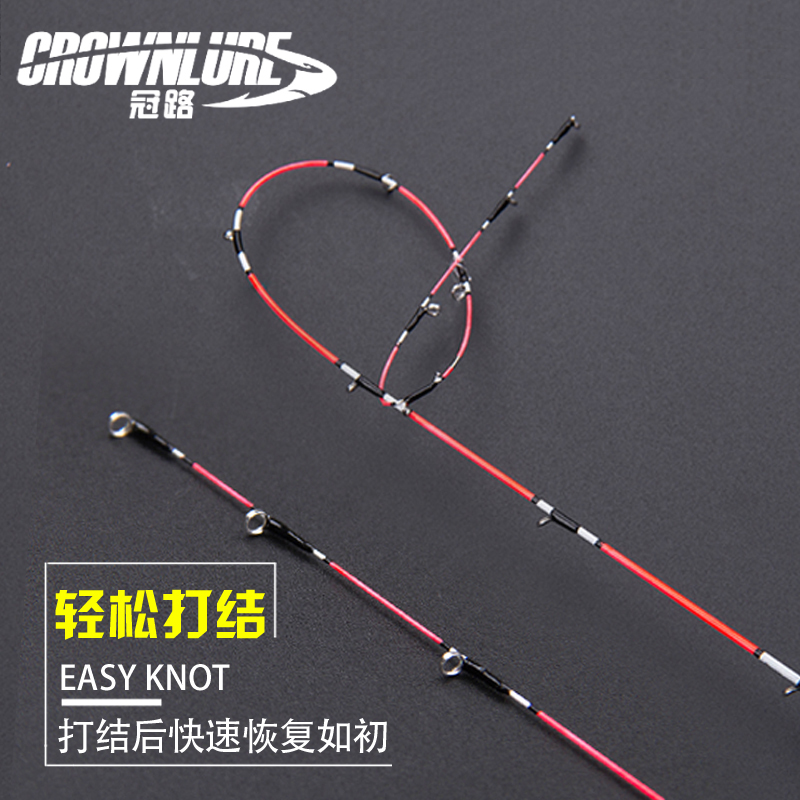 The soft titanium alloy metal micro lead soft tail carbon fishing rod below the boat and raft and the super light carp fishing rod suit