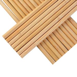 防霉防滑竹制长筷子家庭装10双 家用日式竹筷餐具快子套装