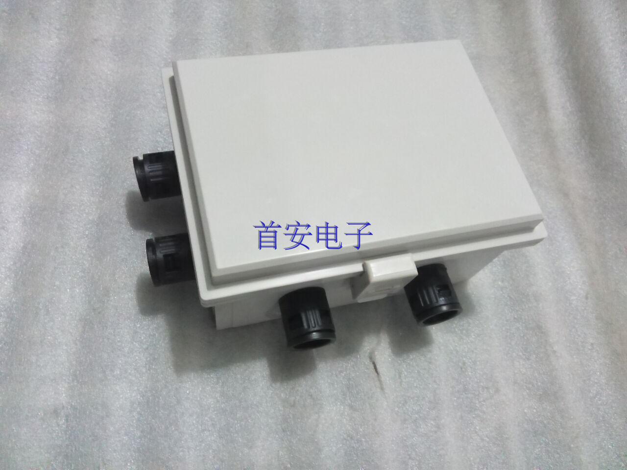 Hose threading waterproof box, 200*150*100 terminal junction box, plastic hinge hasp, junction box, waterproof box