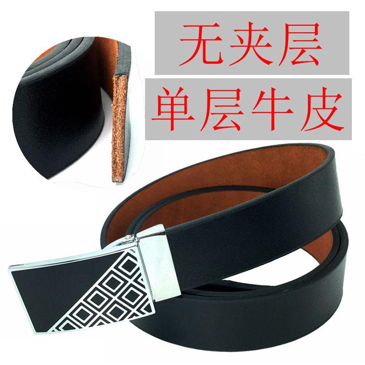 ベルトの男性の純粋な頭の牛皮のベルトは黄牛皮の革の牛皮革のベルトとしては旧式にして旧型のベルトをして