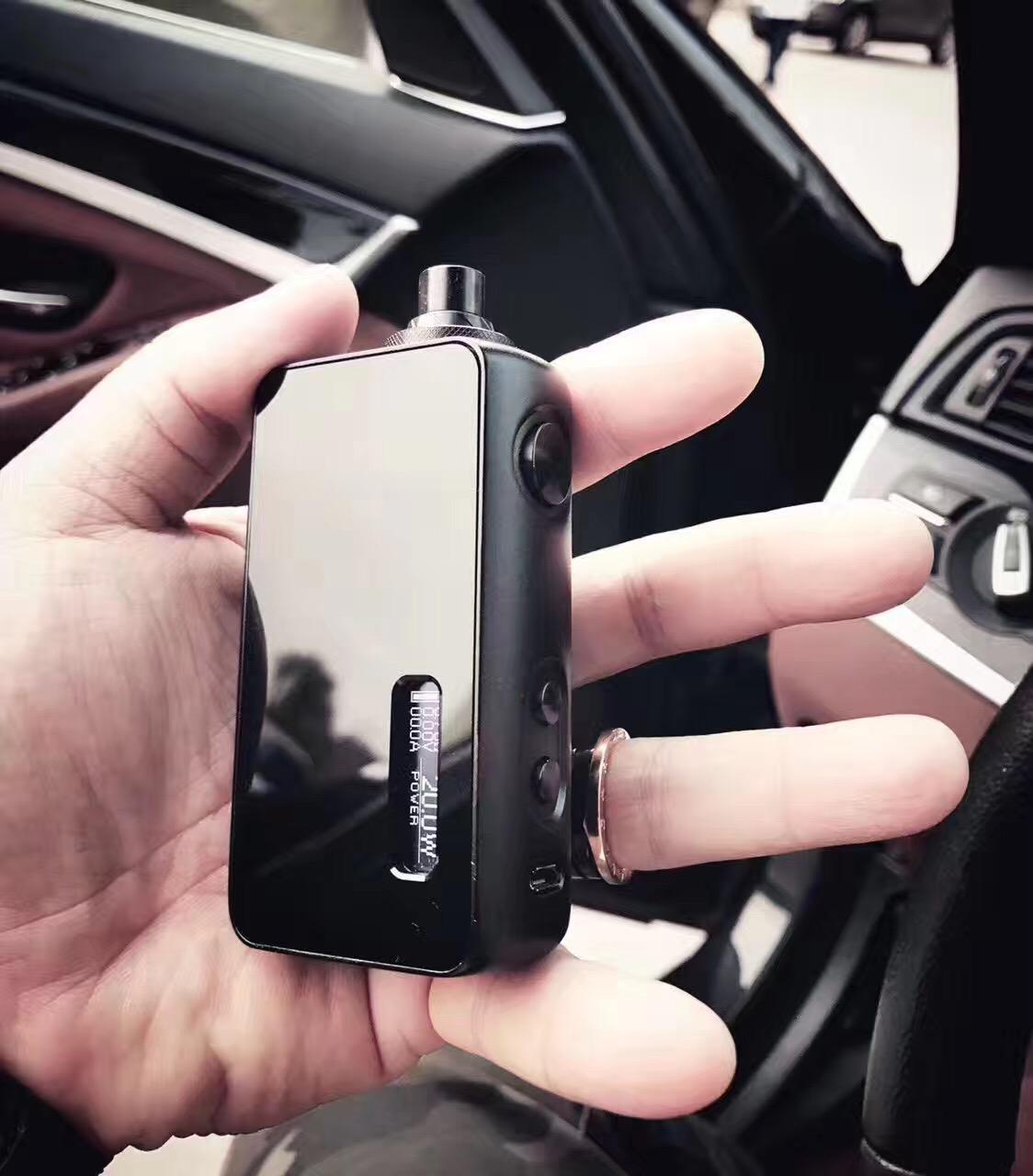 Cigarette électronique de régulation de la température de la chaleur Rmini authentique de l'ensemble de régulation de pression de la boîte de la puce à rmini HM remplaçable