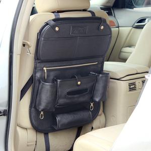 掌舵者 汽车座椅后背多功能餐盘收纳挂袋置物储物箱车载内饰用品