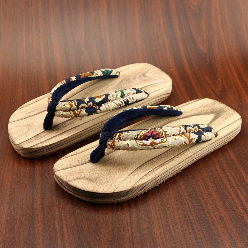 日式 木拖鞋 男女式 人字拖鞋男女情侣款 夏鞋木屐