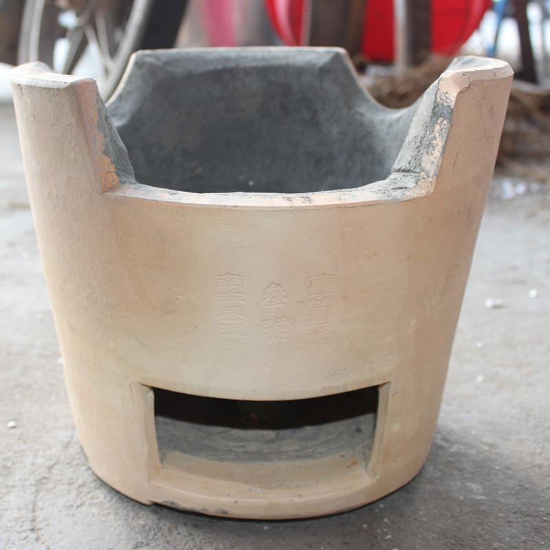 уголь Древесный уголь хого печь печь открытый старинный медный горшок почвы плита углерода уголь Древесный уголь печь печь печь ударил края Фэн грязи