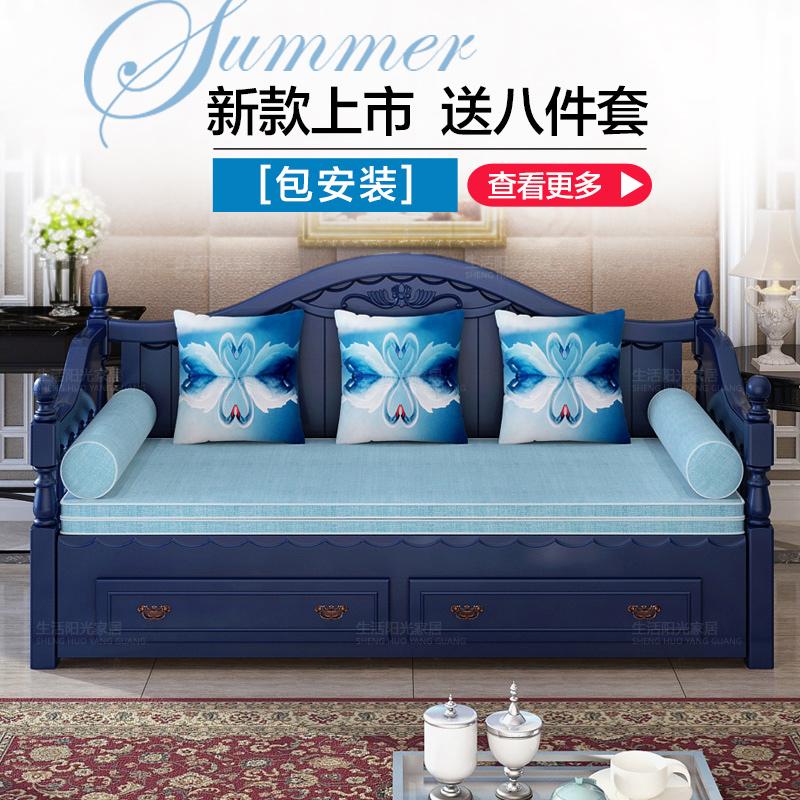 Το νέο καναπέ κρεβάτι το μικρό μέγεθος της πολυλειτουργικής καναπέ - κρεβάτι ανακληνώμενα den σαλόνι καναπέ - κρεβάτι 1,2 m 1