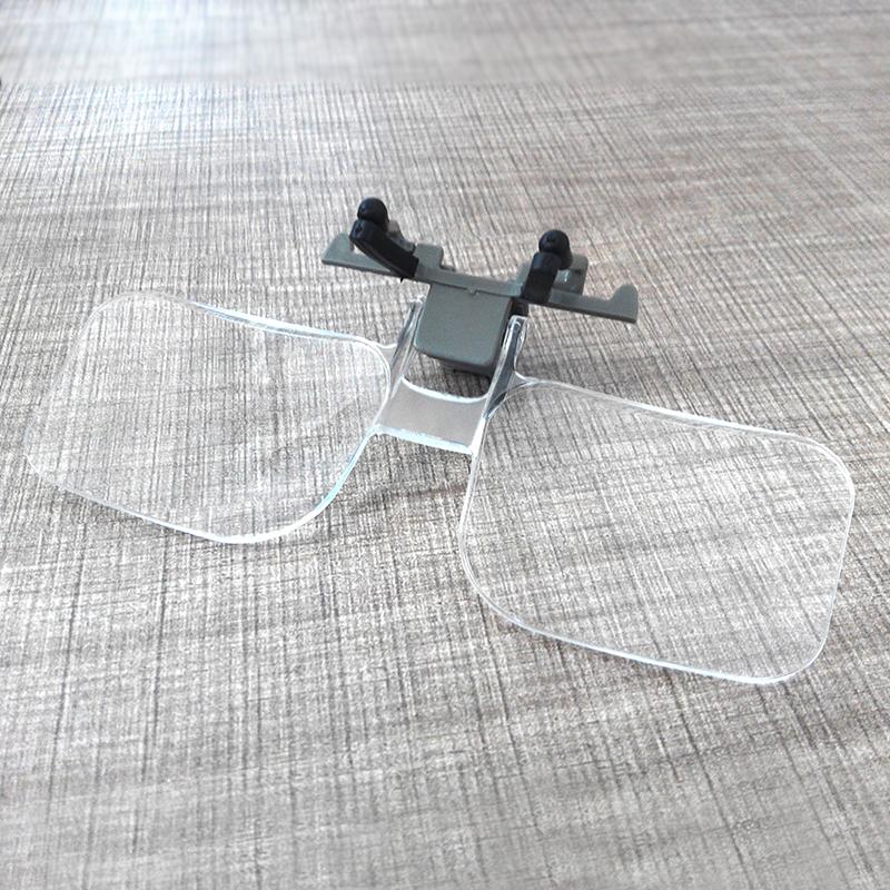 Lectura de espejo veces mayor de edad clara lupa tuerto portátil de lectura de periódicos con títulos de un espejo