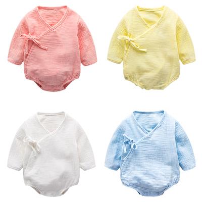 婴儿衣服包屁衣 新生儿连体衣薄款婴幼儿春季 宝宝棉哈衣爬服夏季