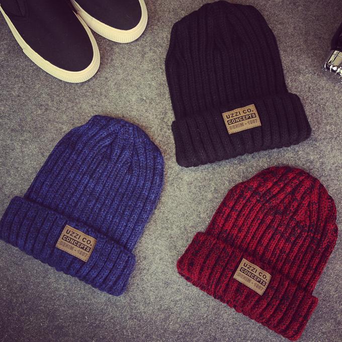 韩版儿童秋冬天针织帽子冬季女童保暖毛线帽男童护耳套头帽小孩潮