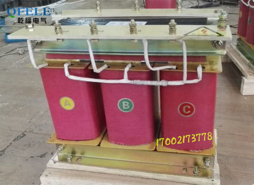 Three phase machine transformer 3 item 220V change 380V660V40KVA dry power supply 380V turn 690V40KW