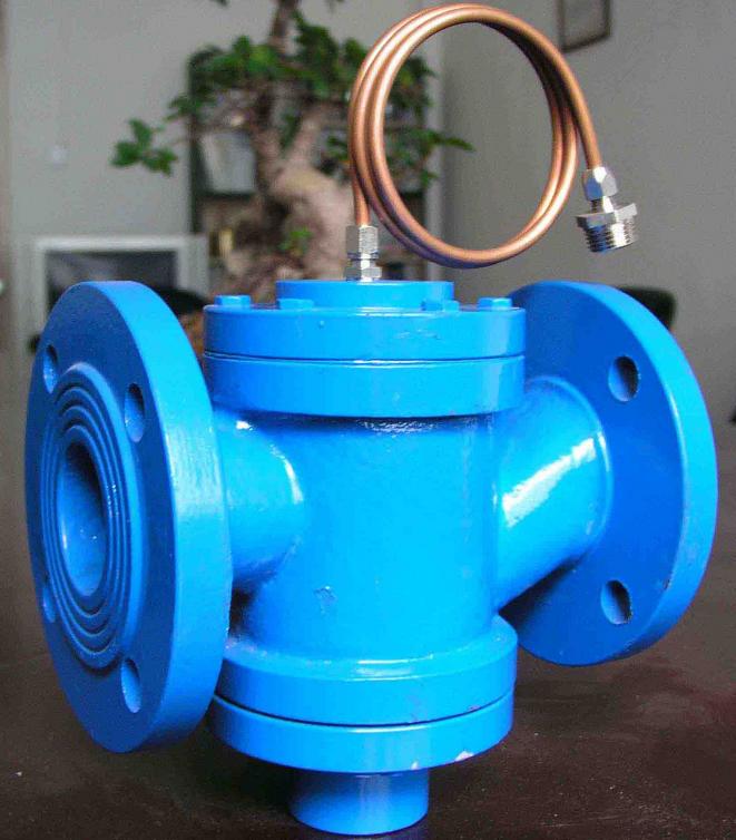 La válvula de Shanghai de la válvula de control de presión ZYC-16DN100 Holley Seiko Kars Guanlong