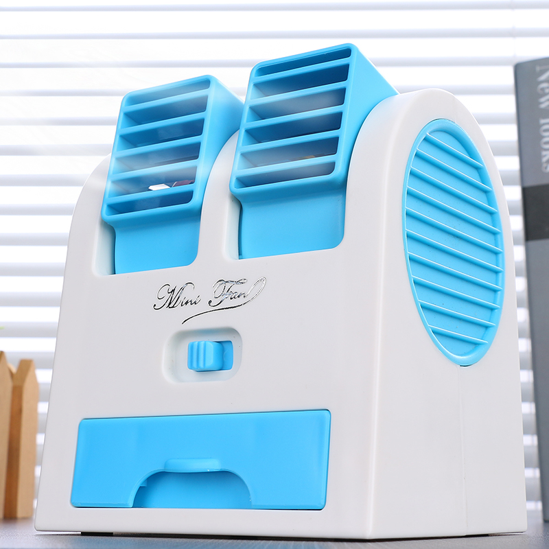 Mini pocket air conditioner, mobile phone fan, refrigeration, rechargeable, creative dormitory, small carry
