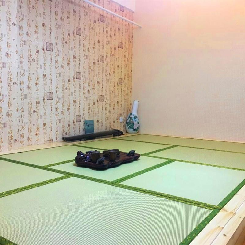 Shenglong custom mattress coir mat tatami matting mat with Japanese m bedroom floor mat