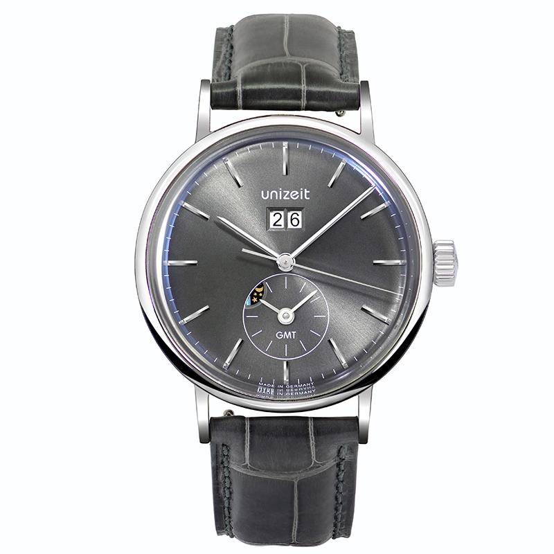 優はすぐunizeitドイツ時計男月相表ビジネス機械BM006-SL410-00HD男ものの時計