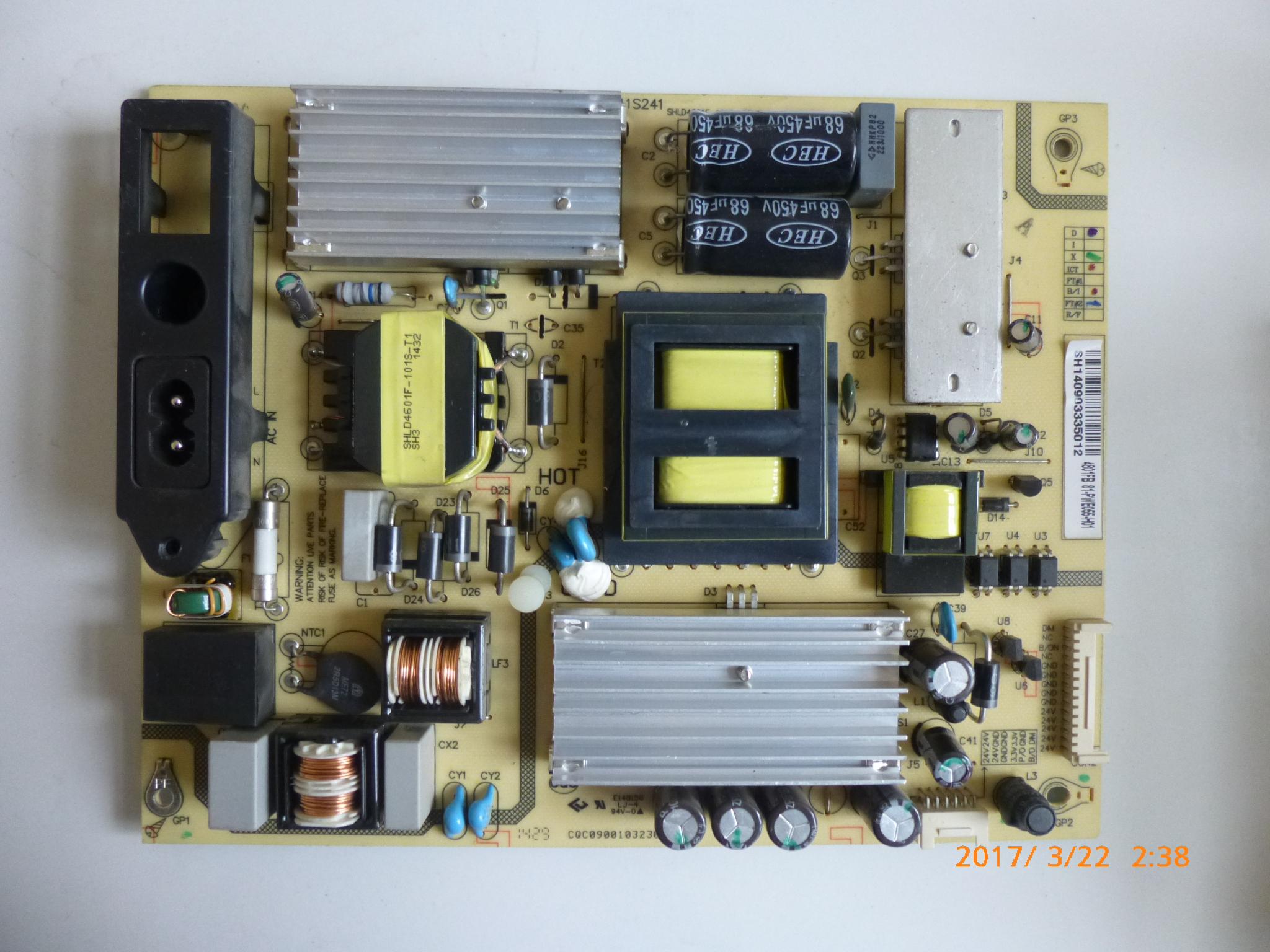 TCLL55F2880A55 치 액정 텔레비전 회로 역광 구동 고압 배전반 메인보드