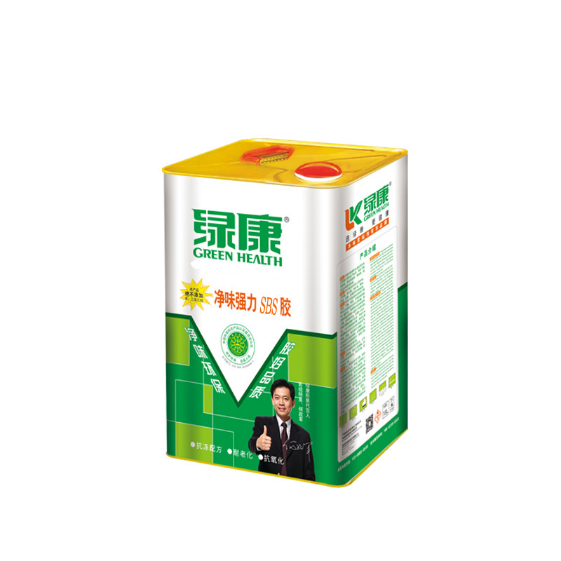 Lukang monengjiao SBS glue aluminum plate bonding adhesive bonding sheet leather factory direct environmental odor