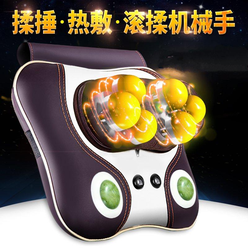 Huishoudelijke elektrische massage apparaat ruggenwervel kussen. Het lichaam van multifunctionele nek, schouders.