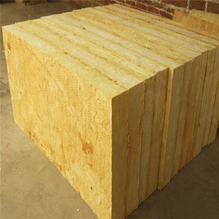 メーカー直販a级半硬質ロックウール保温板保温する断熱材料外壁ロックウール板