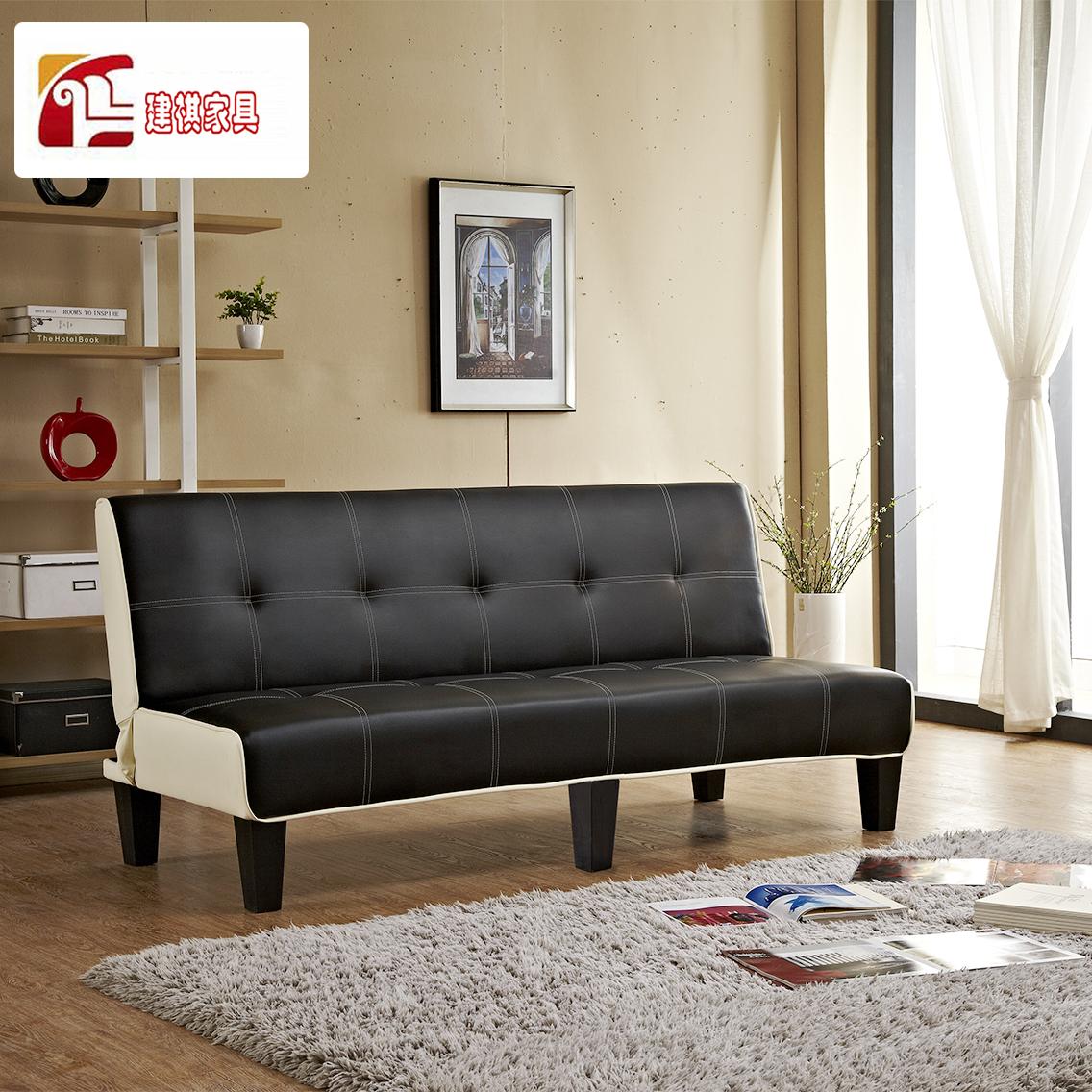 Τον καναπέ - κρεβάτι πτυσσόμενου σύγχρονο μινιμαλιστικό 1,8 m ξύλινα πακέτο μετά μικρό διαμέρισμα διπλό πολυλειτουργική και πτυσσόμενο καναπέ - κρεβάτι.