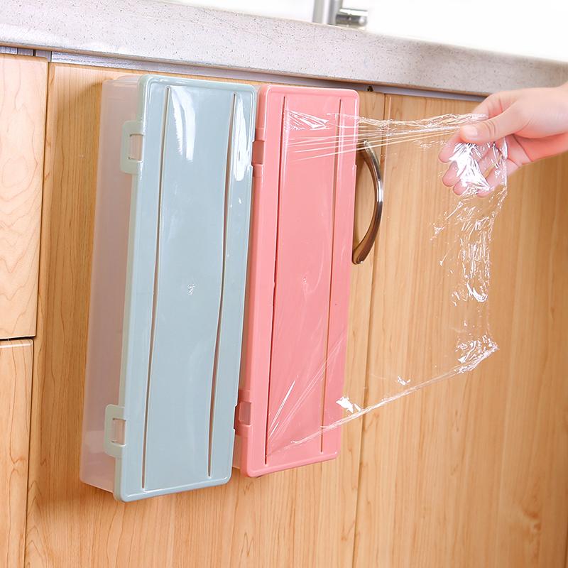 การเข้าถึงกล่องฉีกกล่องสดประเภทเครื่องตัดฟิล์มห่อไปรษณีย์รับวางตู้เย็นพลาสติก