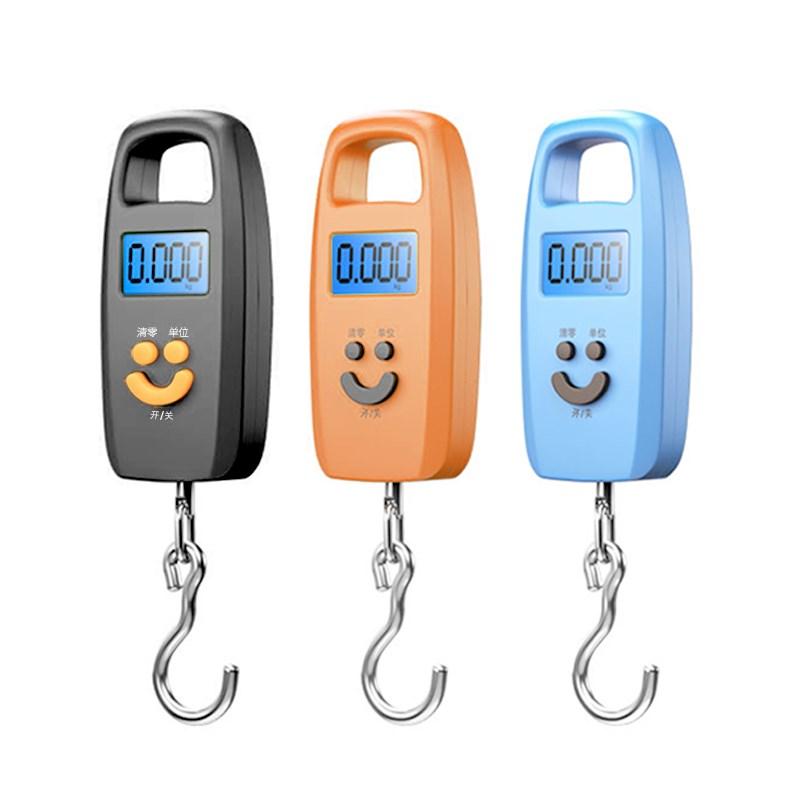 50 kg - ni käest, et parandada elektrooniliste kaalude täpsus on lihtne väike kantav kaasa, et tõmba konks käes.