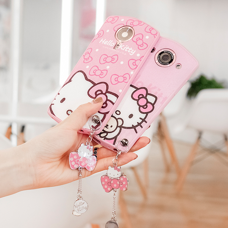Cartoon butterfly knot Mito M8/T8/M6/M6s mobile phone shell M4s/M4/V4 all fall soft side shell