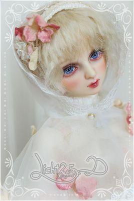 【Licht 2.5D】bjd DD娃用高温(耐热)丝假发-33-2色入