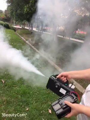 12V烟雾机低压 汽车车载喷雾机户外摄影烟机移动烟雾机不带电池
