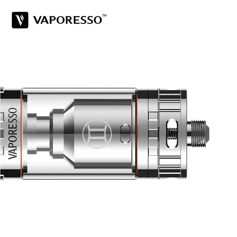 電子タバコは規格品のスーツVaporessoふたご座GeminiTankRTA含油セラミック芯ネブライザ