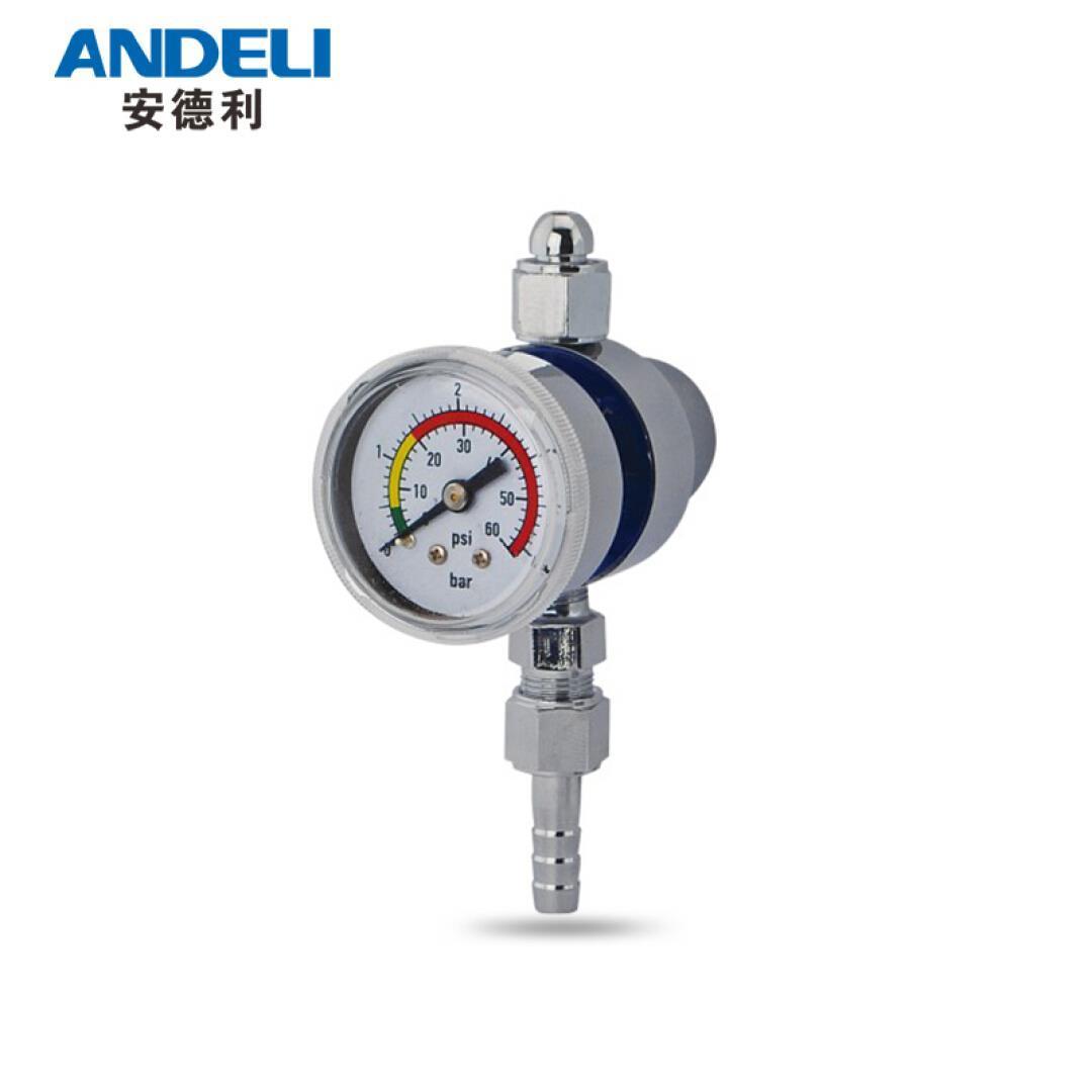 Andre soldador de argón cuadro / medidor de presión Válvula de descompresión de tabla WX-91-2 TIG