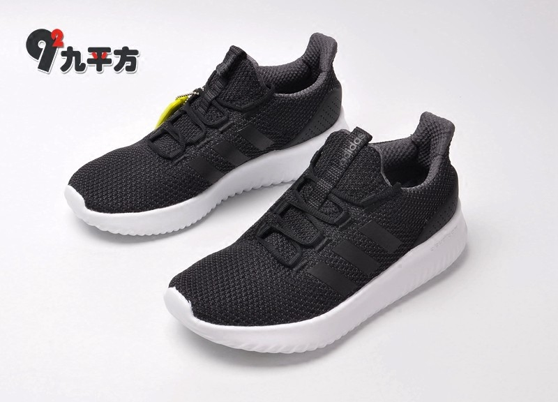 Adidas NEOCloudfoamUltimate men's black and white breathable casual sports shoes CG5800