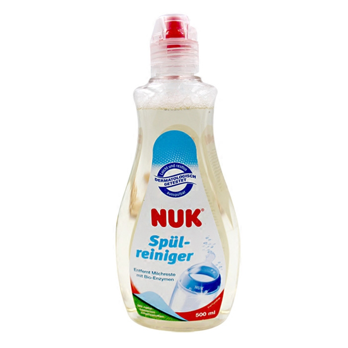 Germany NUK bottle cleaning agent, cleaning liquid, tableware, pacifiers, fruit and vegetable cleaning liquid, cleaning bottle liquid