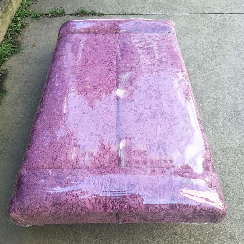 Τρεις άνθρωποι wuhan φτηνά έπιπλα πτυσσόμενο καναπέ κρεβάτι το μικρό μέγεθος της ενοικίασης σύγχρονο μινιμαλιστικό διπλής χρήσης απλή καναπέ