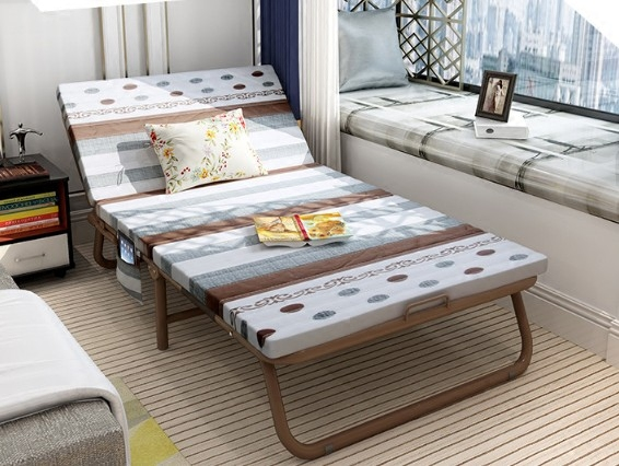 Home folding bed, single office, siesta bed chair, double nap bed, bed bed, adult bed