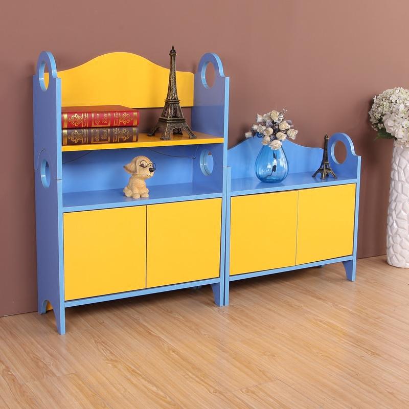 児童本棚児童本箱特価学生本箱簡易本棚の置物機エコ本箱グループロッカー