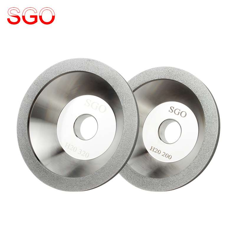 Taiwan diamond grinding wheel diamond tungsten alloy bowl type grinding wheels and alloy tool grinding wheel