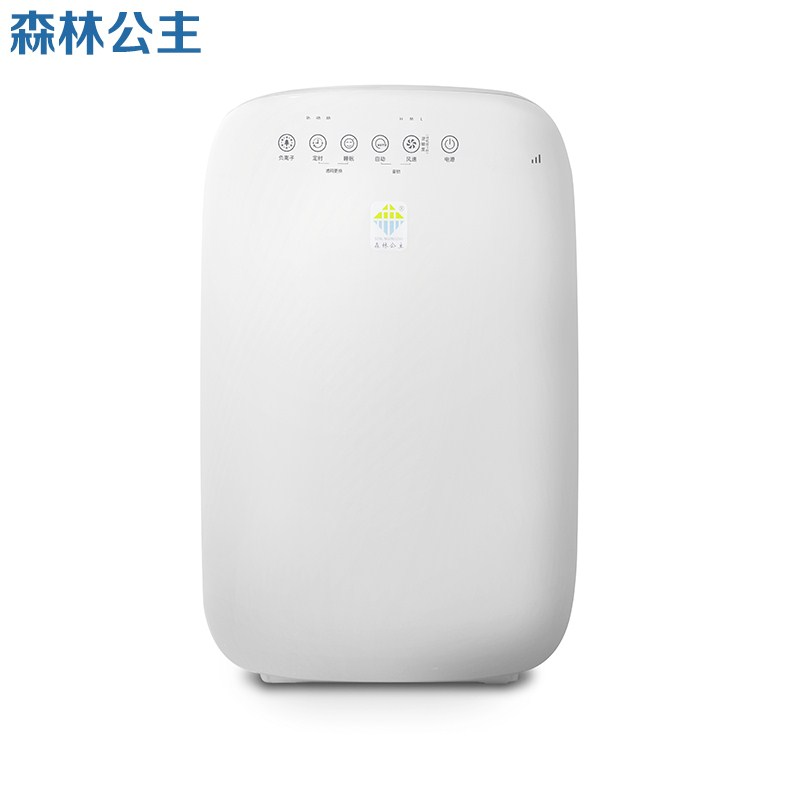 180 air purifier home bedroom quiet except haze, smelly odor PM2.5 formaldehyde anion