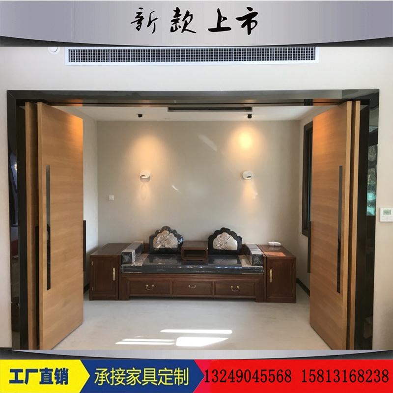 新中国のモデルハウス羅漢ベッドソファ折りたたみソファベッド多機能老楡羅漢ベッド木造家具