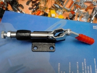 Test and test probe, test jig fittings, 305E quick clamp, Hercules fixture, hardware fixture
